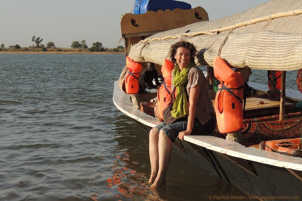 Monique Teggelove - Papillon Reizen - Mali Niger river