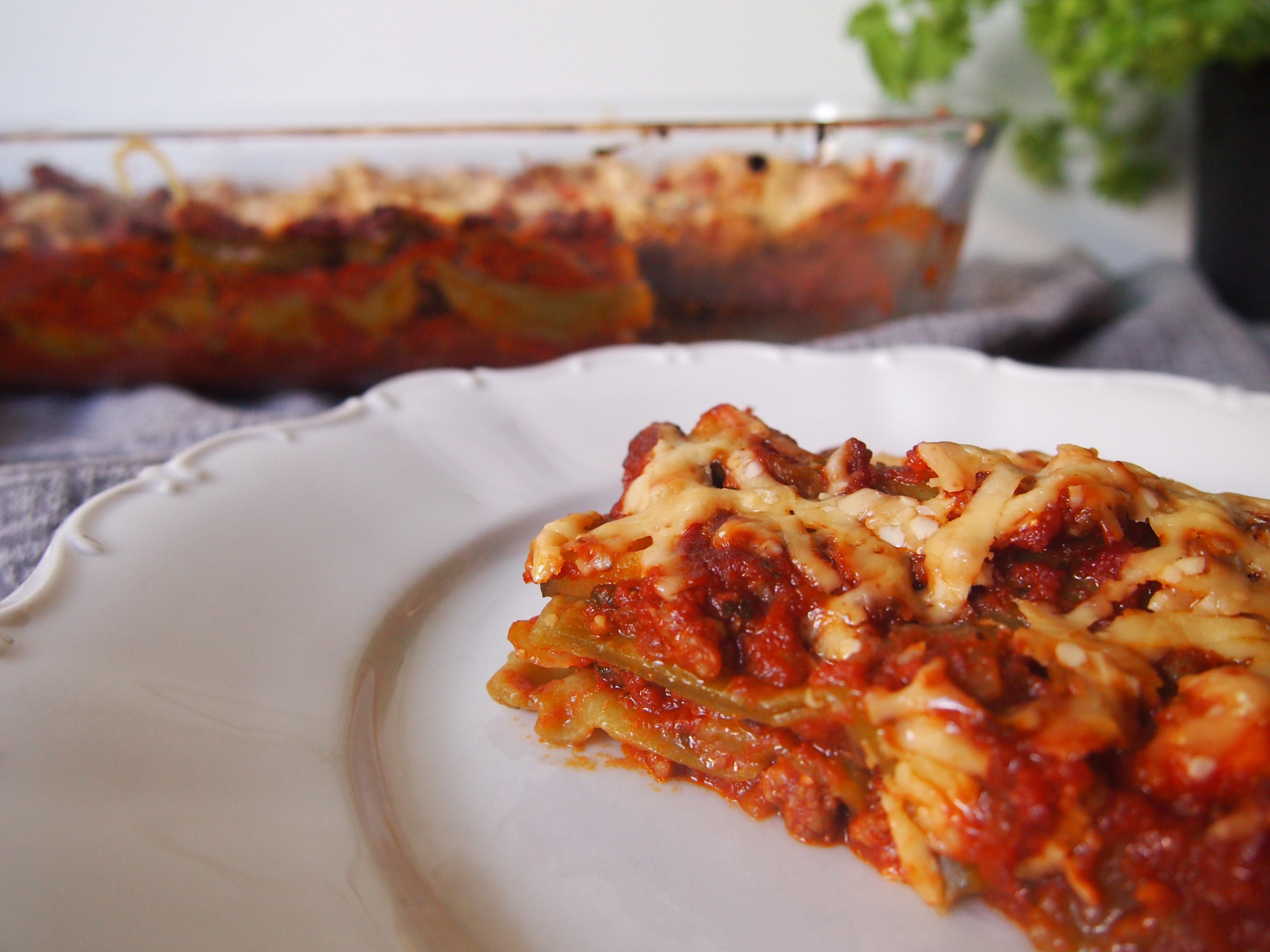RECEPT Lasagne met zelfgemaakte saus en gehakt