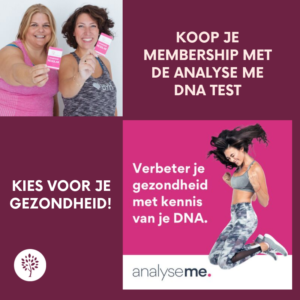KOOP JE MEMBERSHIP MET DE ANALYSE ME DNA TEST