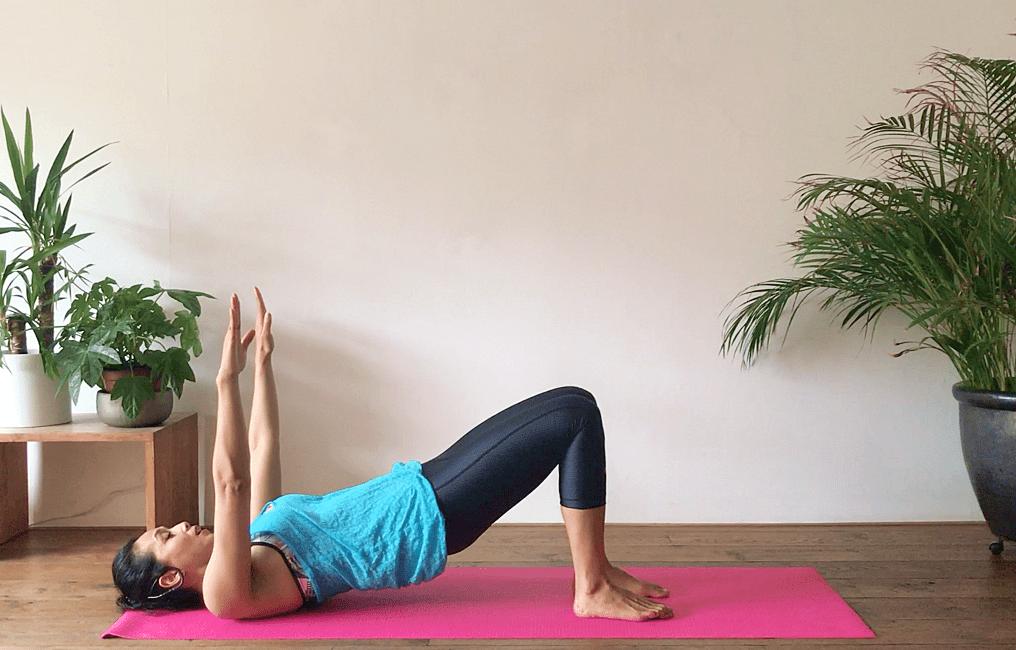 Pilates voor benen en billen