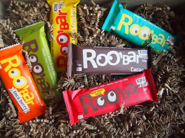 Maak kennis met Roo'bar repen